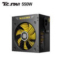 連鈺 T.C.STAR G550電源供應器 (550W 80+銅牌 五年保固兩年換新) 僑威代工