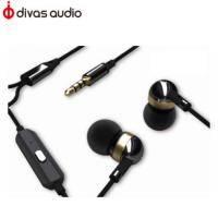 Divas DV-2198B 入耳式耳機-爵士黑