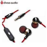 Divas DV-2198R 入耳式耳機-夕陽紅