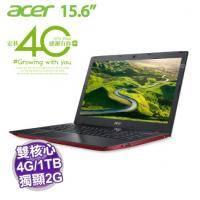 acer E5-575G-54N3 紅【i5-6200U/4G D4/1TB+128G SSD/NV-940MX 2G/FHD/DVD/W10】【福利品出清】
