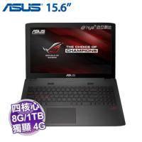 ASUS ROG GL552VL-0023B6700HQ 電競機【i7-6700HQ/8G D4/1TB+128G SSD/GTX-965M 4G/FHD/DVD/W10】