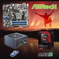 【高興價】A8-7670K 3.5GHz(S2.0靜音風扇)+華擎 FM2A88M Pro3+全漢 黑武士 350W