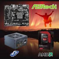 【高興價】A10-7860K 3.6GHz(S2.0靜音風扇)+華擎 FM2A88M-HD+ R3+全漢 黑武士 350W