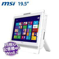 MSI 微星 AE200 5M-223TW【20吋 MultiTouch/AMD E2-6110四核心/4G/500G/1M CCD/3in1 Super Multi/Win 8.1 】