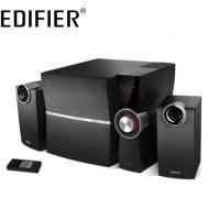 Edifier C2X 三件式喇叭 /2.1聲道 /LED數位音量顯示 /紅外線遙控 /6.5吋重低音音箱