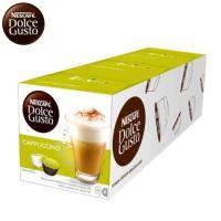 雀巢 新型膠囊咖啡機專用 卡布奇諾咖啡膠囊 (一盒入) 料號 12225835 ★奶泡與咖啡的完美結合