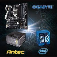 【高興價】Core i3-6100+技嘉 B150M-D3H+ANTEC NEO ECO II 450