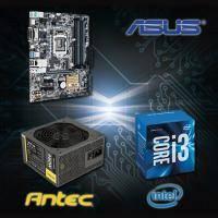 【高興價】Core i3-6100+華碩 B150M-A/M.2+ANTEC NEO ECO II 450