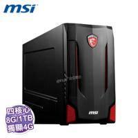MSI 微星 Nightblade MI2-029TW【Intel Core I7-6700/8GB/1TB+128GB SSD/GTX970 D5 4GB/DVDRW/Win10】