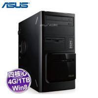 【專業商務工作站】華碩ASUS 商用PC MD570【i5-4590、B85、4G、240G SSD+1TB、讀卡機、W8DGW7、4-4-4】正版雙系統四年保固到府維修 升級SSD秒速開機