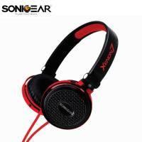 XENON 7 新潮立體聲多媒體耳機(含通訊麥克風) (紅)