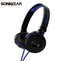 XENON 7 新潮立體聲多媒體耳機(含通訊麥克風) (藍)