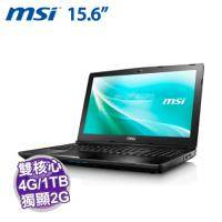MSI CX62 6QL-011TW【i3-6100U/4G D4/1TB+128G SSD/GT-940MX 2G/DVD/W10】