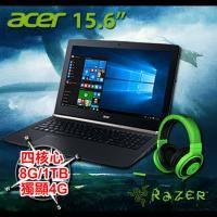 acer VN7-592G-50WH + 北海巨妖專業版耳機麥克風(綠)【i5-6300HQ/8G D4/1TB/GTX-960M 4G/FHD/W10】