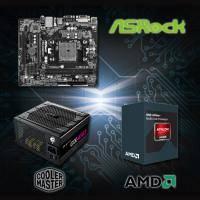 【高興價】Athlon II X4 850 3.2GHz+華擎 FM2A88M-HD+ R3+New GX 450 電競版