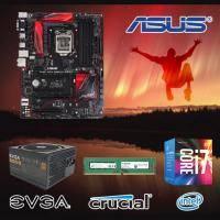 【高興價】Core i7-6700+華碩 B150 PRO GAMING AURA+美光 DDR4-2133-8GB+EVGA 500B 80PLUS 銅牌