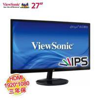 優派 27吋VA2759-SMH 液晶顯示器【獨家零閃頻及抗藍光技術/AH-IPS面板/HDMI+D-sub/三年保固】