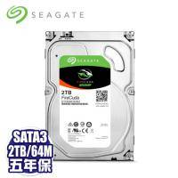 Seagate 2TB/混合碟(ST2000DX001)/SATA3/7200R/64MB/8GB SSD/五年全保