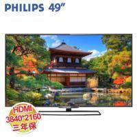 PHILIPS 49PUH6600 49吋 LED液晶電視 【UHD 3840X2160/SMART TV/保固三年 】