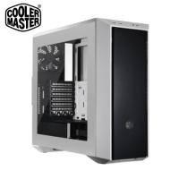 CM(酷碼) MasterBox 5S 白色特式版電腦機殼 (透明壓克力前面板,無5.25框架)