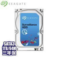 Seagate 1TB (ST1000VX001)[監控碟]64M/5900轉/三年保 讀寫頭3倍耐用