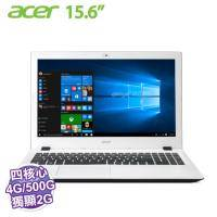 acer E5-532G-P4EJ 白【N3710/4G/500G/NV-920M 2G/DVD/W10】【福利品出清】
