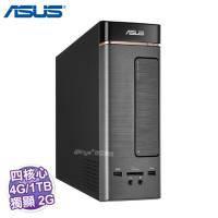 ASUS K20CD 桌上型電腦【i5-6400/4G/1TB/GT-720 2G/DVD/讀卡機/含鍵盤滑鼠/W10/3年保/K20CD-0041A640GTT】