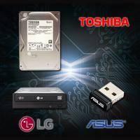 【高興價】TOSHIBA 1TB硬碟(DT01ACA100)+HLDS 24X DVD燒錄器+華碩 USB-N10 nano 無線網路卡(省108)