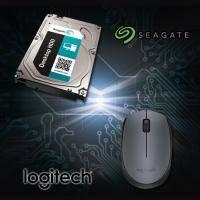 【高興價】Seagate 1TB(ST1000DM003-3Y)+ 羅技B170無線滑鼠