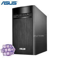 ASUS K31CD 桌上型電腦【i3-6100/4G/1TB/DVD/讀卡機/含鍵盤滑鼠/W10/3年保/K31CD-0021A610UMT】