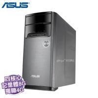 ASUS M32CD-0101C640GTT 桌上型電腦(i5-6400、8G、1T+128 SSD、GT740 4G、Win10、三年保固)