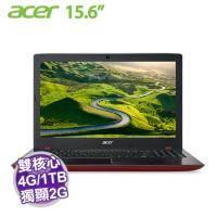 acer E5-575G-51RQ 紅【i5-7200U/4G/1TB+128G SSD/NV-940MX 2G/15.6吋】+acer原廠包包及滑鼠【福利品出清】
