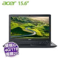 acer E5-575G-599Y 灰【i5-7200U/4G/1TB+128G SSD/NV-940MX 2G/15.6吋】+acer原廠包包及滑鼠【福利品出清】