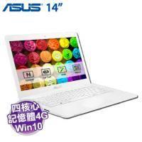 ASUS L402SA-0042AN3160 天使白【N3160/4G/32G/W10/一年保】office365 個人版一年