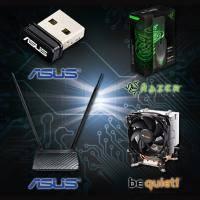 【高興價】華碩 RT-N12 HP 無線分享器+華碩USB-N10nano迷你型無線網路卡+ Razer Abyssus 地獄狂蛇+巨甲蟲鼠墊(S)組+Be Quiet PURE ROCK SLIM ..