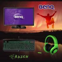 【高興價】BenQ 27.0吋 BL2710PT AHVA 2K液晶顯示器+Razer BW Ultimate (Stealth)2016黑寡婦終極橘軸機械式鍵盤(中文)+Razer Kraken P..