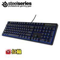 SteelSeries Apex M500 藍光電子競技專用機械式電競鍵盤/紅軸英文/世界頂級電子競技玩家認證(加贈中文鍵帽)