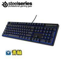 SteelSeries Apex M500 藍光電子競技專用機械式電競鍵盤/青軸英文/世界頂級電子競技玩家認證(加贈中文鍵帽)