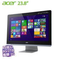 acer Aspire Z3-715【23.8吋10點觸控、6400T、8G、2TB、GT940/2G、Win10】 All in one 電腦