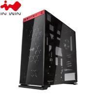 迎廣 IN-WIN 805 豪華版透側玻璃電競機殼 ATX/紅