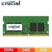 美光 Micron Crucial NB-DDR4 2400-4G RAM