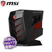 MSI Aegis X-032TW 神盾宙斯電競桌機/i7-6700K/GTX1070 8G/16G/1T+256G PCIe/DVD/WiFi/W10/3年保