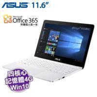 ASUS E200HA-0081AZ8350 天使白 4G 升級版【X5-Z8350/4G/32G/11.6吋/W10/1年保】附贈Microsoft Office365 個人版一年 (市價2190元..