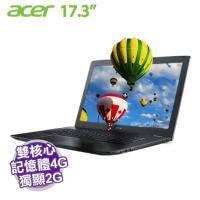 acer E5-774G-52PG【i5-7200U/4G D4/1TB/NV-940MX 2G/17.3吋 FHD/DVD/W10】【福利品出清】