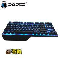 SADES Karambit 狼爪刀 機械式鍵盤/英刻/茶軸/87KEY/附注音鍵帽