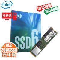 【搭機價】Intel 600P 256G/M.2 PCIe 2280/讀:1570M/寫:540M/五年