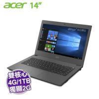 acer E5-473G-56KE 灰【i5-5200U/4G/1TB/NV-940M 2G/14吋 FHD/DVD/W10】【福利品出清】