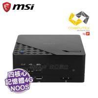 MSI Cubi 2 Plus-004XTW 迷你電腦/黑【i5-6400/4G/500G/WiFi/NOOS/1年保】