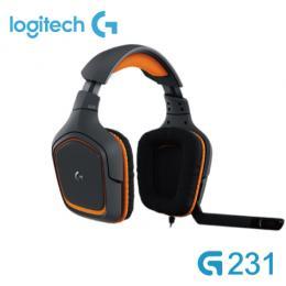 羅技 G231 遊戲耳機麥克風