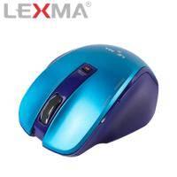 LEXMA 雷馬 M810R 無線藍光滑鼠 粉